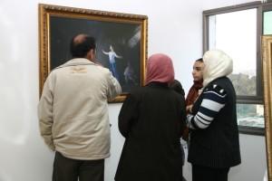 """פתיחת תערוכת """"אמת-חמלה-סובלנות"""" בגלריה בערערה. צילום: תקווה מהבד"""