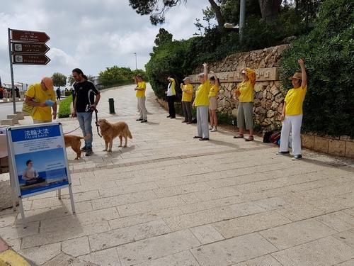 Falun Dafa day Haifa